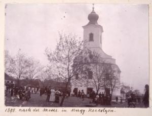 Kostol, Veľké Chrašťany, r. 1898