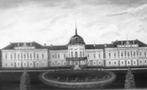 Kaštieľ, Pustý Chotár,Autor maľby – Tadeáš Horváth