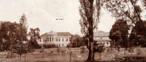Kaštieľ akúria rodiny Vellesz,Beladice, r. 1898
