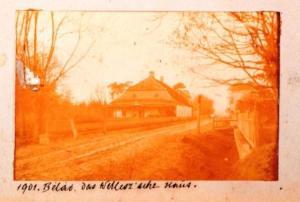Kaštieľ rodiny Jesenských a kúria rodiny Vellesz vBeladiciach, r. 1898