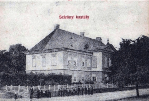 Kaštieľ, Veľké Chrášťany, r. 1900