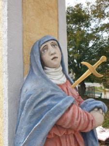 Križ po rekonštrukcii